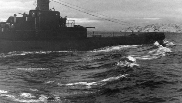 Stará německá loď z doby druhé světové války - Sputnik Česká republika
