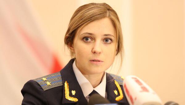 Natalja Poklonskaja - Sputnik Česká republika