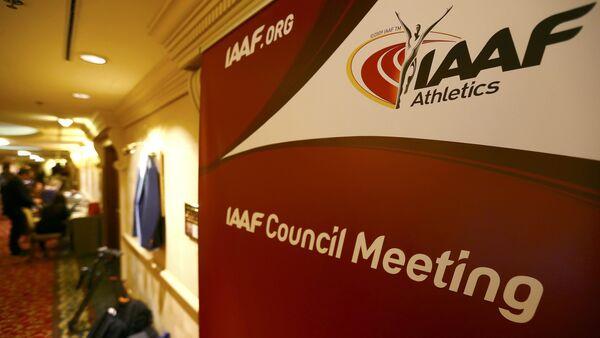 Logo Mezinárodní asociace atletických federací (IAAF) - Sputnik Česká republika