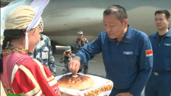 Vítejte v Rusku: Čínská vojenská letadla přiletí na Aerial Darts 2016 - Sputnik Česká republika