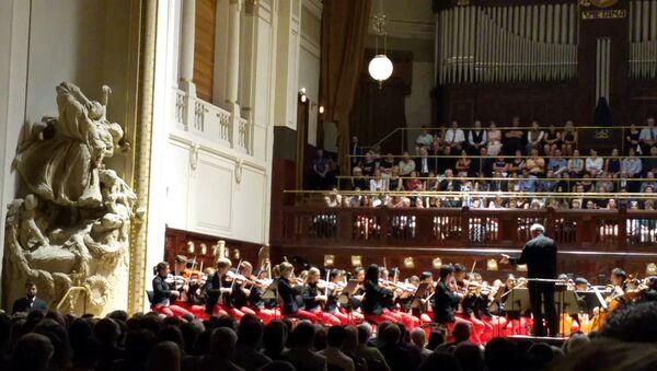 Gergiev & orchestr Carnegie Hall - NYO-USA v Praze - Sputnik Česká republika