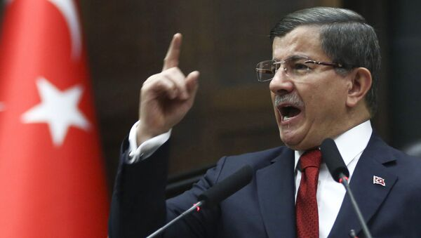 Bývalý turecký premiér Ahmet Davutoğlu - Sputnik Česká republika