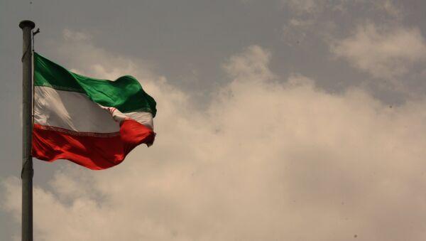 Íránská vlajka - Sputnik Česká republika