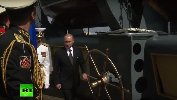 Putin navštívil křižník Auroru - Sputnik Česká republika
