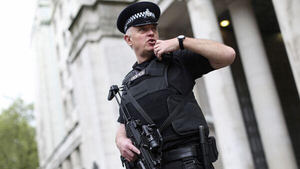 Britský policista - Sputnik Česká republika