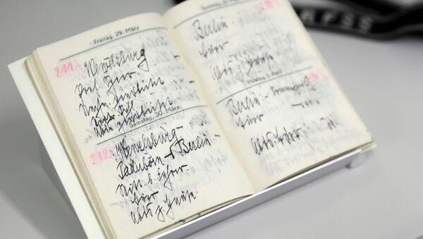 Deníky Heinricha Himmlera v zámku Wewelsburg - Sputnik Česká republika