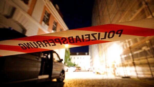 Na místě útoku v Ansbachu - Sputnik Česká republika