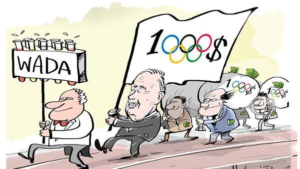 Manipulace WADA - Sputnik Česká republika