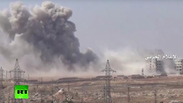 Boj o Aleppo. VIDEO - Sputnik Česká republika
