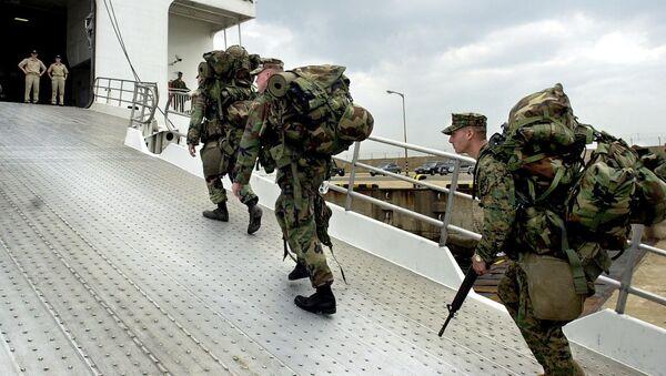 Vojáci USA - Sputnik Česká republika