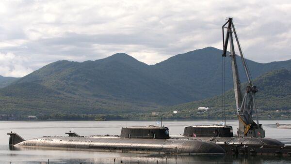 Atomové ponorky Čeljabinsk a Omsk - Sputnik Česká republika