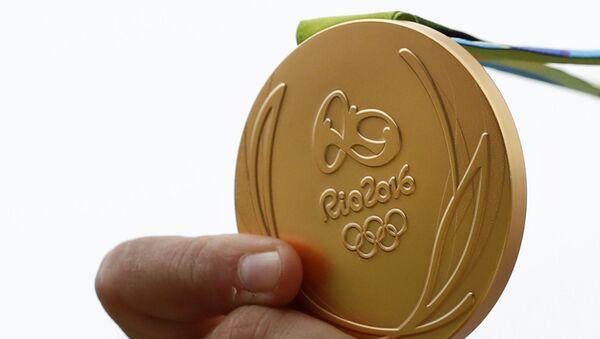 Zlatá medaile Letních olympijských her 2016 v Riu - Sputnik Česká republika