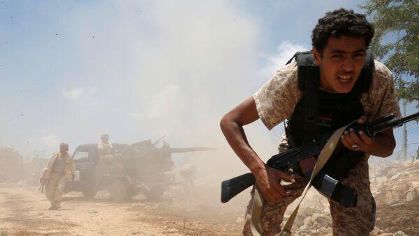 Libyjští vojáci - Sputnik Česká republika