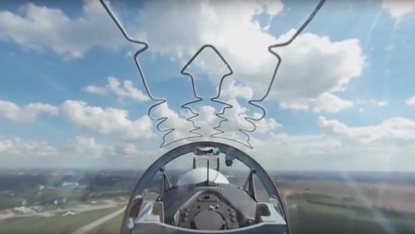 Pohled z pilotní kabiny - Sputnik Česká republika