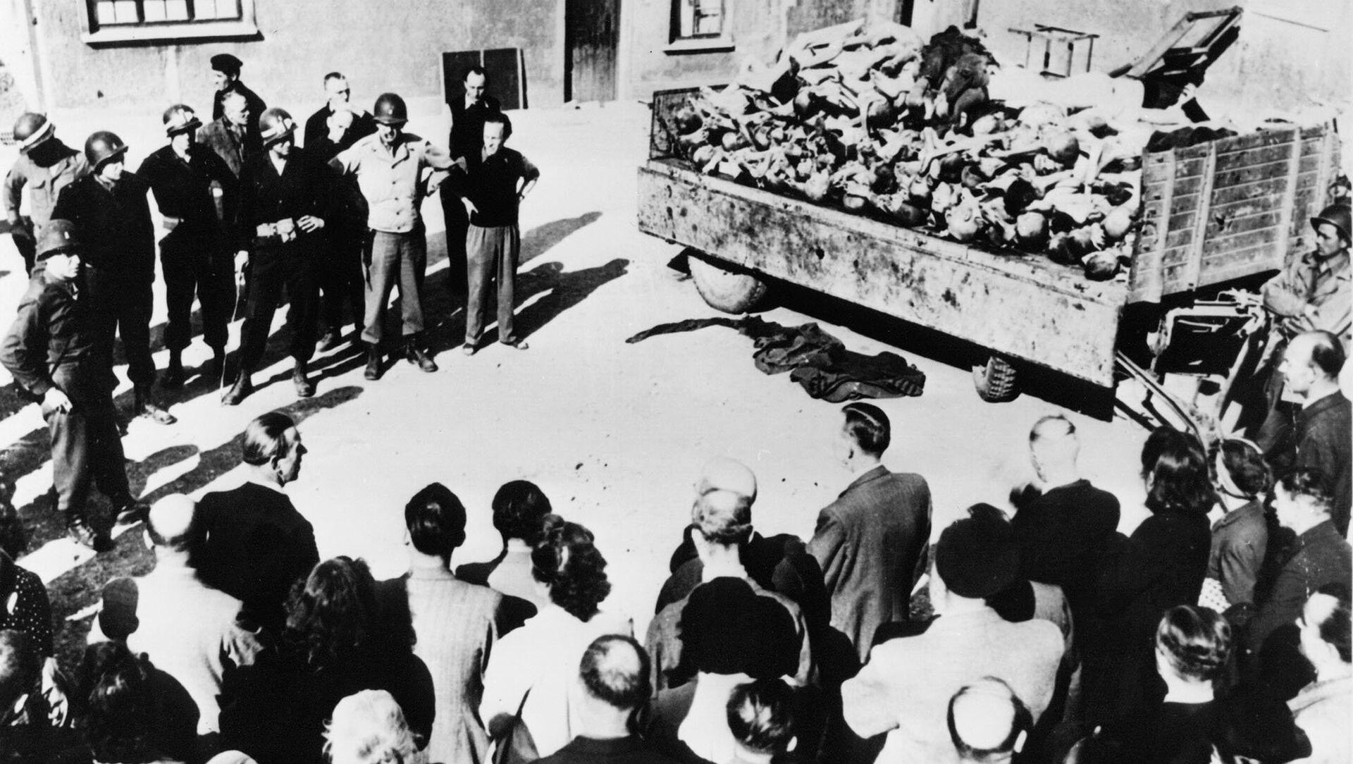 Oběti zvěrstev v Buchenwaldu - Sputnik Česká republika, 1920, 11.04.2021