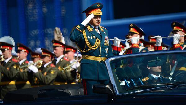 Ministr obrany Ruska Sergej Šojgu - Sputnik Česká republika