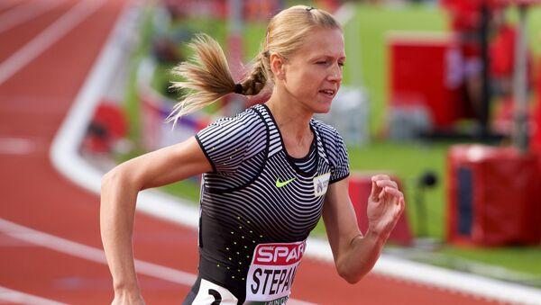 Běžkyně Julia Stěpanovová - Sputnik Česká republika