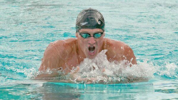 US Olympic Swimmer Ryan Lochte - Sputnik Česká republika