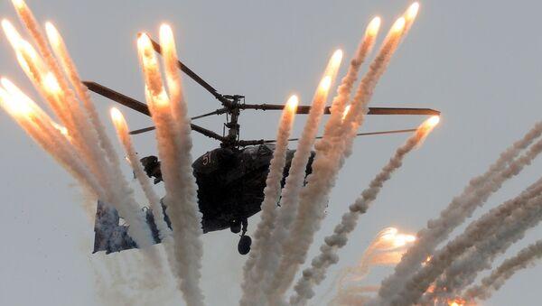 Bojový vrtulník Ka-52 - Sputnik Česká republika