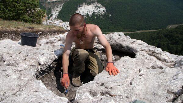 Vykopávky na Krymu - Sputnik Česká republika