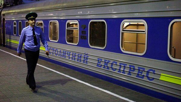 Vlak Moskva-Kyjev - Sputnik Česká republika