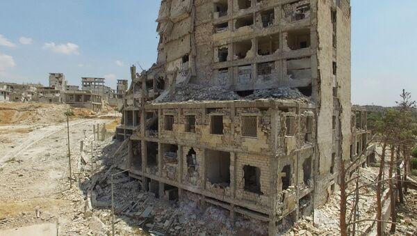 Situace v Aleppu, Sýrie - Sputnik Česká republika