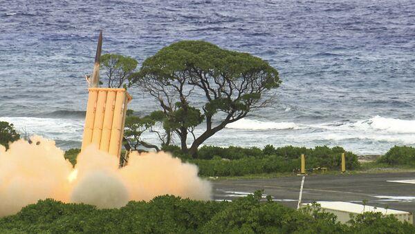 Zkouška protiraketového systému THAAD - Sputnik Česká republika