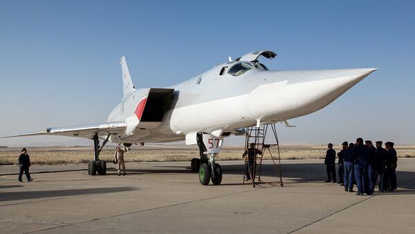 Ruský bombardér Tu-22M3 - Sputnik Česká republika