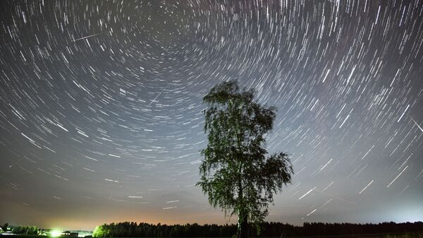 Meteorický roj Perseidy - Sputnik Česká republika