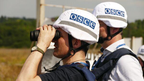 Příslušníci mise OBSE - Sputnik Česká republika