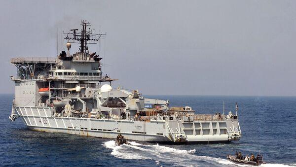 Britská opravná loď RFA Diligence - Sputnik Česká republika