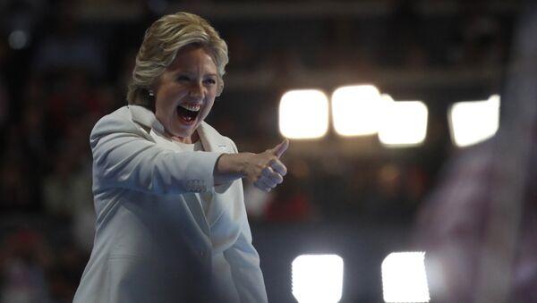 Kandidátka na prezidenta USA Hillary Clintonová - Sputnik Česká republika