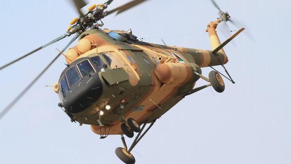 Vrtulník Mi-17V-5 v Afghánistánu - Sputnik Česká republika