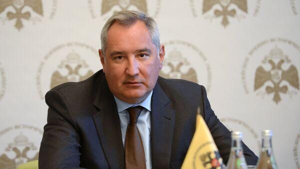 Místopředseda ruské vlády Dmitrij Rogozin - Sputnik Česká republika
