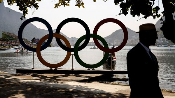 Olympijské kruhy v Riu - Sputnik Česká republika
