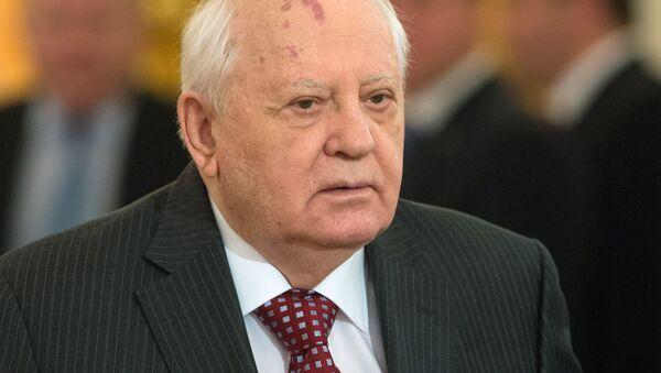 První a poslední prezident SSSR Michail Gorbačov - Sputnik Česká republika
