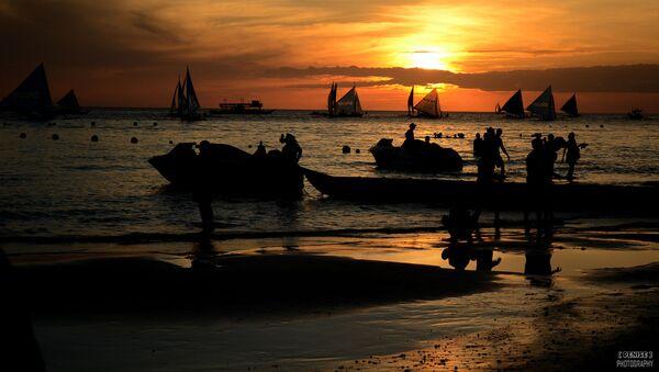 Rybáři na Filipinách - Sputnik Česká republika