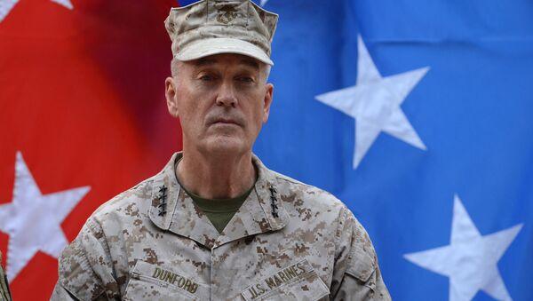 Předseda Spojeného výboru náčelníků štábů ozbrojených sil USA, generál Joseph Dunford - Sputnik Česká republika