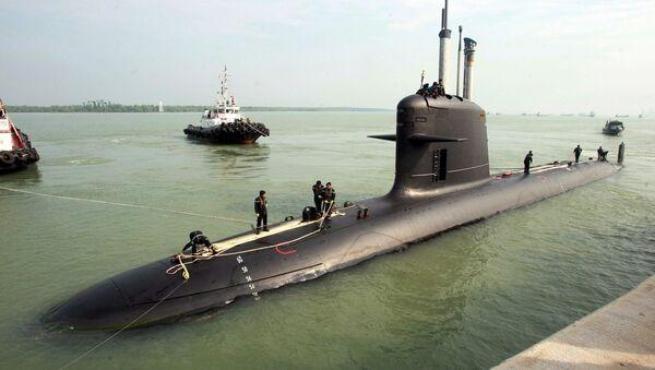 Francouzská ponorka třídy Scorpene - Sputnik Česká republika