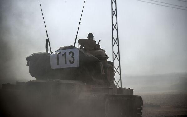 Turecká armáda v Sýrii - Sputnik Česká republika