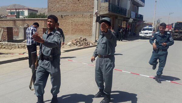 Policie v Kábulu - Sputnik Česká republika