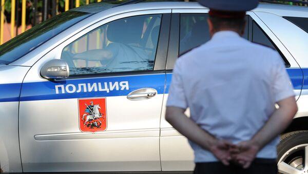 Policista v Moskvě - Sputnik Česká republika