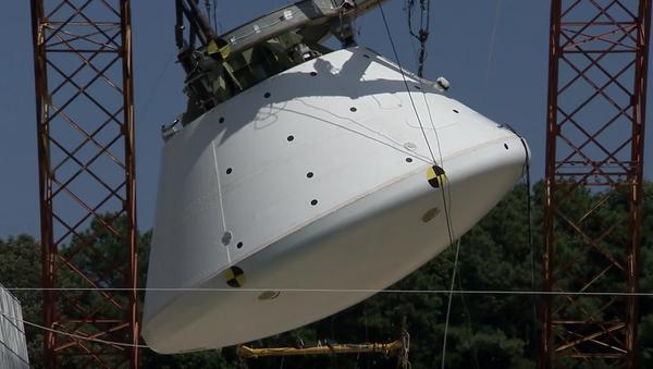 NASA hodila na vodu loď pro misi na Mars - Sputnik Česká republika