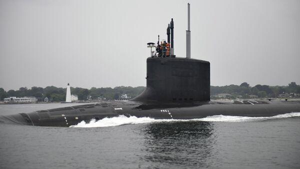 Americká ponorka USS Illinois - Sputnik Česká republika