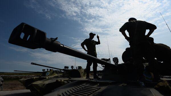 Soutěž vyzbrojených výsadkových vojsk (ilustrační foto) - Sputnik Česká republika