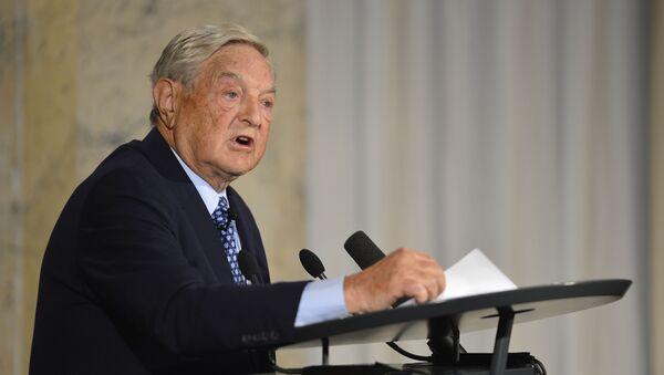 George Soros - Sputnik Česká republika