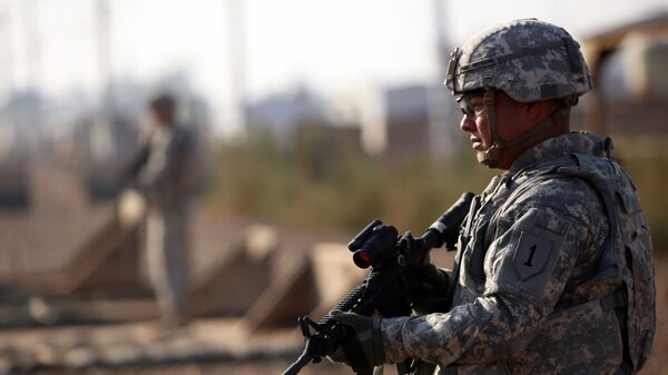 Americký voják v Iráku - Sputnik Česká republika