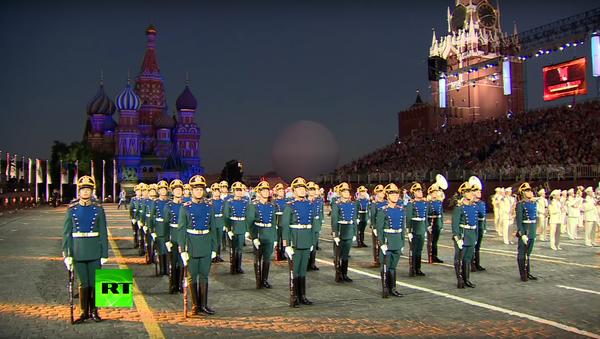 Vystoupení světových vojenských orchestrů v Moskvě - Sputnik Česká republika