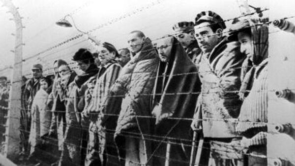 Vězni koncentračního tábora Osvětim - Sputnik Česká republika