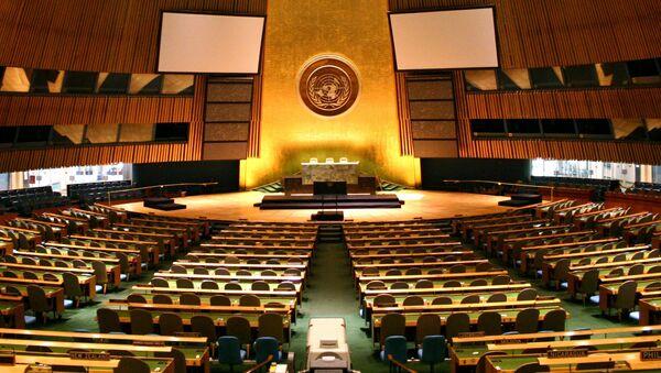 Hala Valného shromáždění OSN - Sputnik Česká republika
